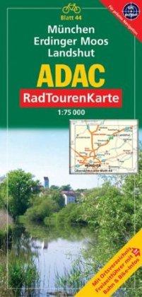 9783826415623: ADAC RadTourenKarte 37. München, Erdinger Moos, Landshut. 1 : 75 000
