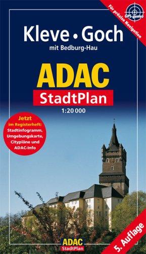 9783826417962: ADAC Stadtplan Kleve / Goch 1 : 20 000