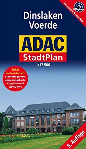 9783826418334: ADAC Stadtplan Dinslaken 7 Voerde. 1 : 17 500: Jetzt im Registerheft: Cityplan, Stadtinfogramm, Umgebungskarte und ADAC-Info