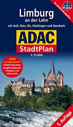 9783826418440: ADAC Stadtplan Limburg an der Lahn. 1 : 15 000: Mit Aull, Diez, Elz, Gückingen und Hambach. Jetzt im Registerheft: Cityplan, Stadtinfogramm, Umgebungskarte und ADAC-Info