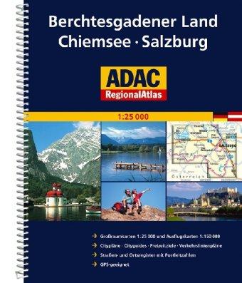 9783826418921: ADAC RegionalAtlas Berchtesgadener Land / Chiemsee