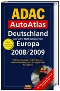 9783826419249: ADAC AutoAtlas Deutschland und seine Nachbarregionen Europa 2008/2009, m. CD-ROM