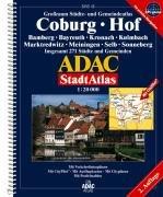 9783826419379: ADAC Stadtatlas Großraum Coburg. Hof. 1 : 20 000: Bamberg, Bayreuth, Kronach, Kulmbach, Marktredwitz, Meiningen, Selb, Sonneberg. Grossraum Städte- ... 271 Städte und Gemeinden. 1:20000. GPS-genau