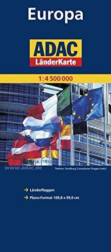 9783826421808: ADAC Europa 1 : 4 000 000. Plano