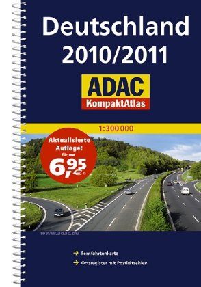 9783826422041: ADAC KompaktAtlas Deutschland 2010/2011
