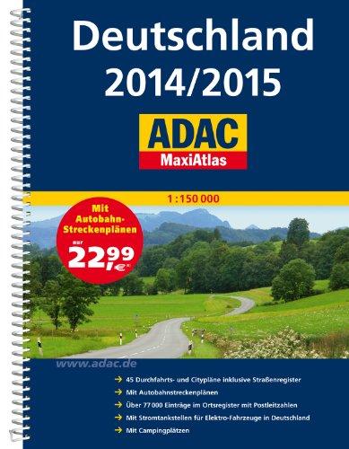 9783826422263: Allemagne Maxi Atlas 2014/2015