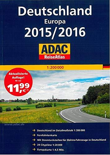 9783826422317: Deutschland europa 2015/2016 reiseatlas