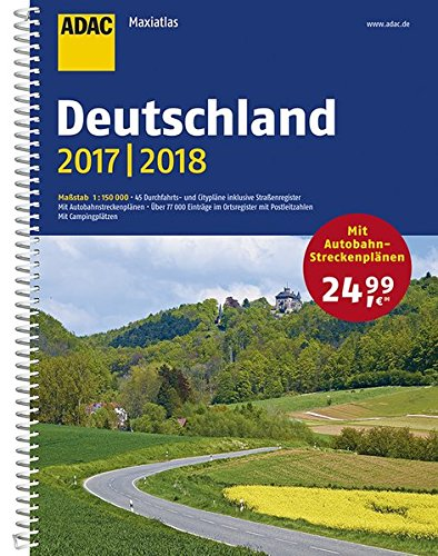 Adac Maxiatlas Deutschland 20172018 1150 000 Adac Atlanten