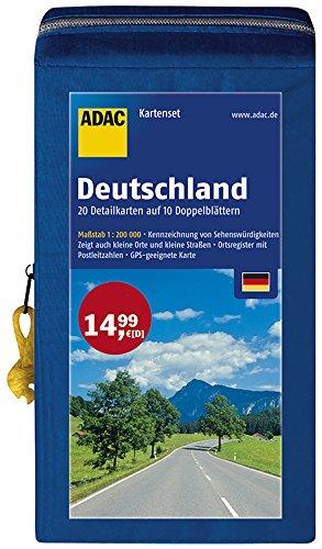 9783826460463: ADAC StraßenKarten Kartenset Deutschland 2016/2017 1 : 200.000