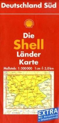 9783826462412: Shell Länderkarte. Deutschland Süd. 1 : 500 000
