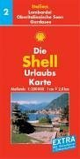 9783826463099: Shell Urlaubskarte Italien 02. Oberitalienische Seen, Gardasee, Lombardei, Mailand 1 : 200 000.