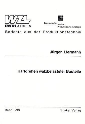 9783826534560: Hartdrehen wälzbelasteter Bauteile