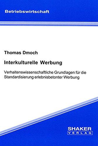 Interkulturelle Werbung: Thomas Dmoch