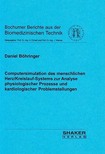 9783826569913: Computersimulation des menschlichen Herz/Kreislauf-Systems zur Analyse physiologischer Prozesse und kardiologischer Problemstellungen