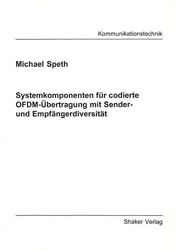 9783826588532: Systemkomponenten für codierte OFDM-Übertragung mit Sender- und Empfängerdiversität (Livre en allemand)