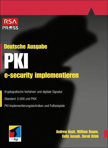 9783826607813: PKI, e-security implementieren