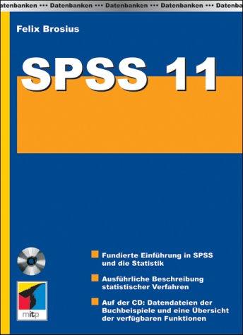 9783826609220: SPSS 11, m. CD-ROM