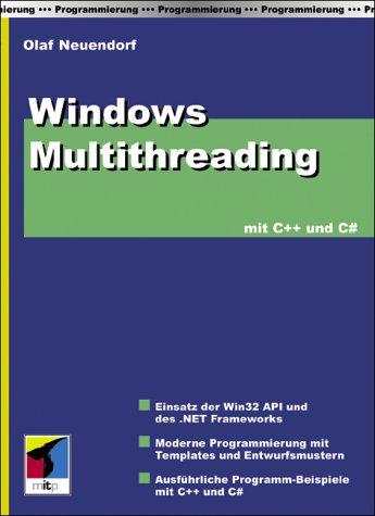 9783826609893: Windows Multithreading mit C++ und C Sharp.
