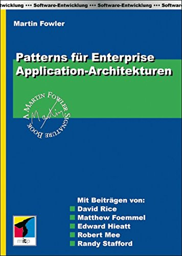 9783826613784: Patterns für Enterprise Application-Architekturen