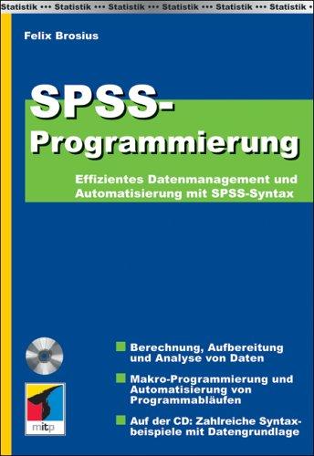 9783826614156: SPSS Programmierung: Effizientes Datenmanagement und Automatisierung mit SPSS-Syntax