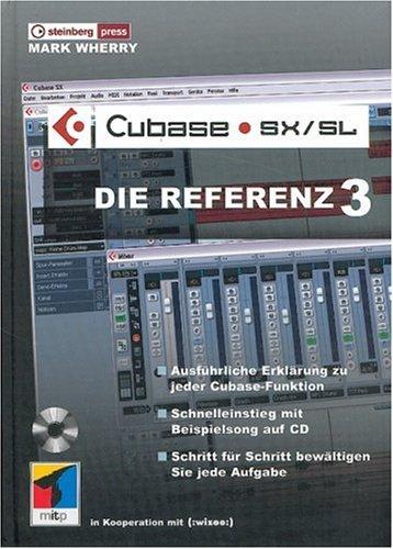 9783826615603: Cubase SX/SL - Die Referenz 3