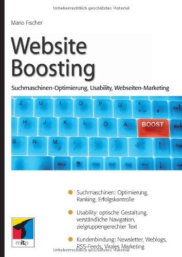 9783826615863: Website Boosting 2.0: Suchmaschinen-Optimierung, Usability, Online-Marketing