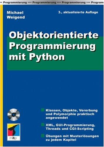 9783826616600: Objektorientierte Programmierung mit Python