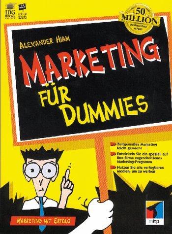 9783826627637: Marketing f�r Dummies