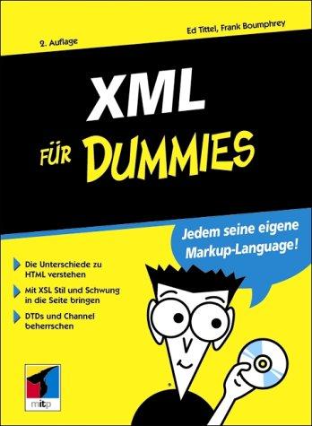 9783826629426: XML für Dummies