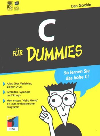9783826629433: C für Dummies.So lernen Sie das hohe C!