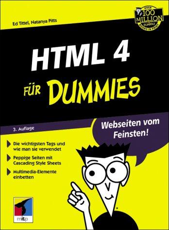 9783826630903: HTML 4 für Dummies.