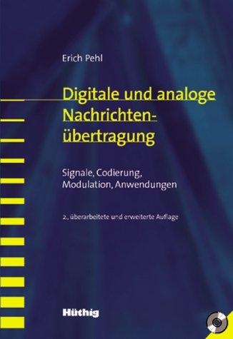 9783826650185: Digitale und analoge Nachrichtenübertragung, m. CD-ROM