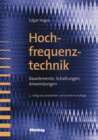 9783826650390: Hochfrequenztechnik.