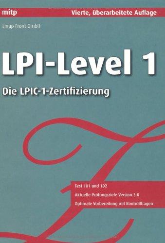 9783826655982: LPI-Level 1: Die LPIC-1-Zertifizierung