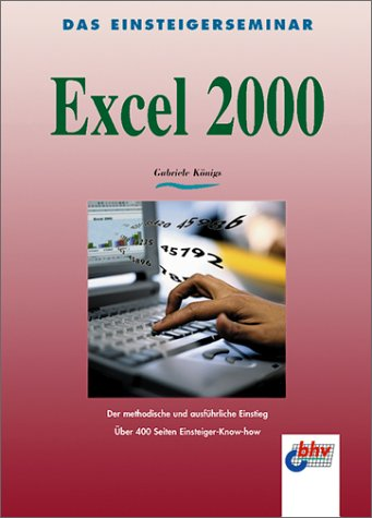 9783826670633: Einsteigerseminar Excel 2000
