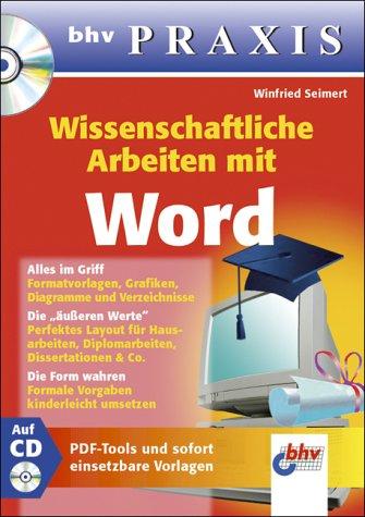 9783826673627: Wissenschaftliche Arbeiten mit Word
