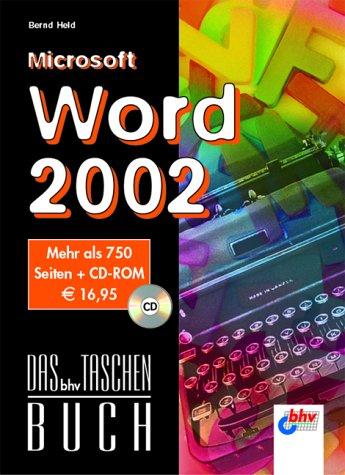 9783826681097: Microsoft Word 2002.