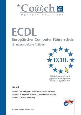 9783826693410: bhv Coach Compact. ECDL Modul 1-3.