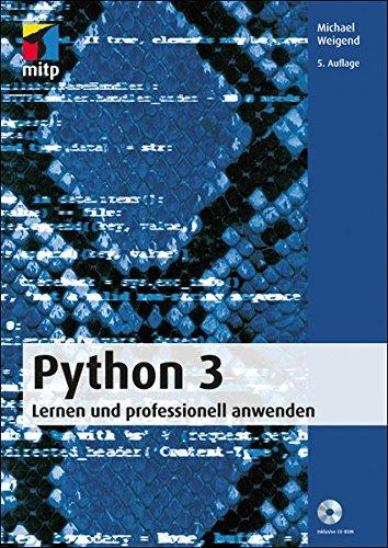 9783826694561: Python 3 - Lernen und professionell anwenden (German Edition)