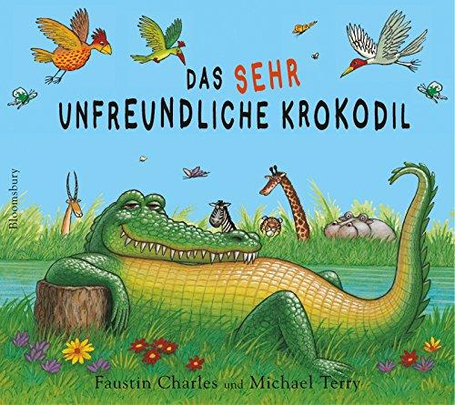 9783827050595: Das sehr unfreundliche Krokodil