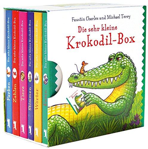 9783827054692: Die sehr kleine Krokodil-Box