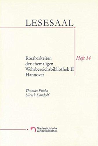 9783827188144: Kostbarkeiten der ehemaligen Wehrbereichbibliothek II (Hannover)
