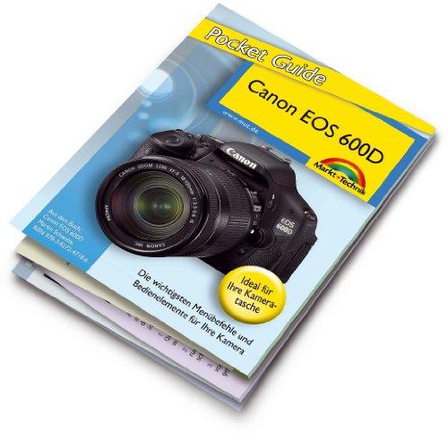 9783827208026: Canon EOS 600D im Fokus: 12-seitige Kurzreferenz. Die wichtigsten Menübefehle und Bedienelemente für Ihre Kamera