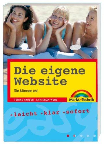 Die eigene Website - easy