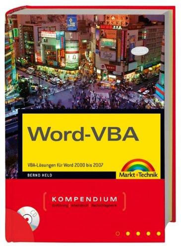 9783827243430: Word-VBA Kompendium: VBA-Lösungen für Word 2002 - 2007