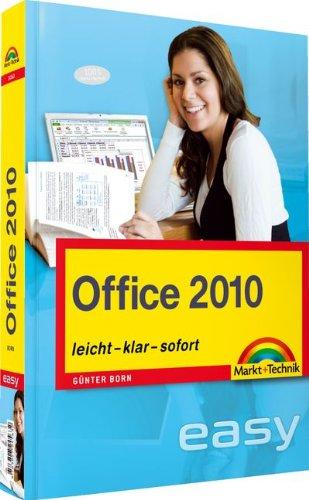 9783827245632: Office 2010: leicht, klar, sofort