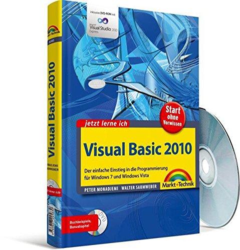 9783827245830: Visual Basic 2010: Der einfache Einstieg in die Programmierung f�r Windows 7 und Windows Vista