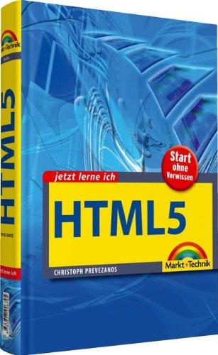 9783827246745: Jetzt lerne ich HTML5: Start ohne Vorwissen