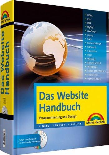9783827246967: Das Website Handbuch: Komplett in Farbe, Programmierung und Design