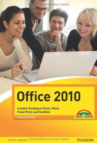 9783827247681: Office 2010: Leichter Einstieg in Excel, Word, PowerPoint und OneNote